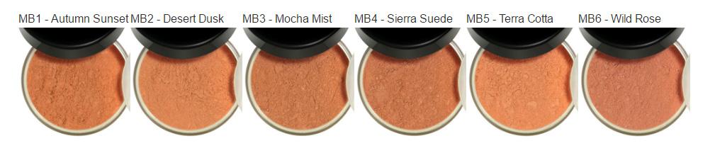 Mineral Blush Choices