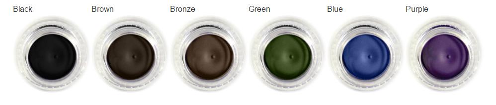 Gel Eye Liner Choices