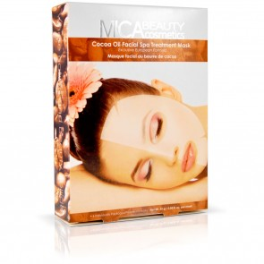 Cocoa Oil Facial Spa Treatment Mask by MicaBeauty