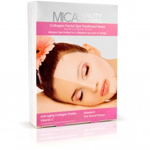Collagen facial spa treatment mask by MicaBeauty