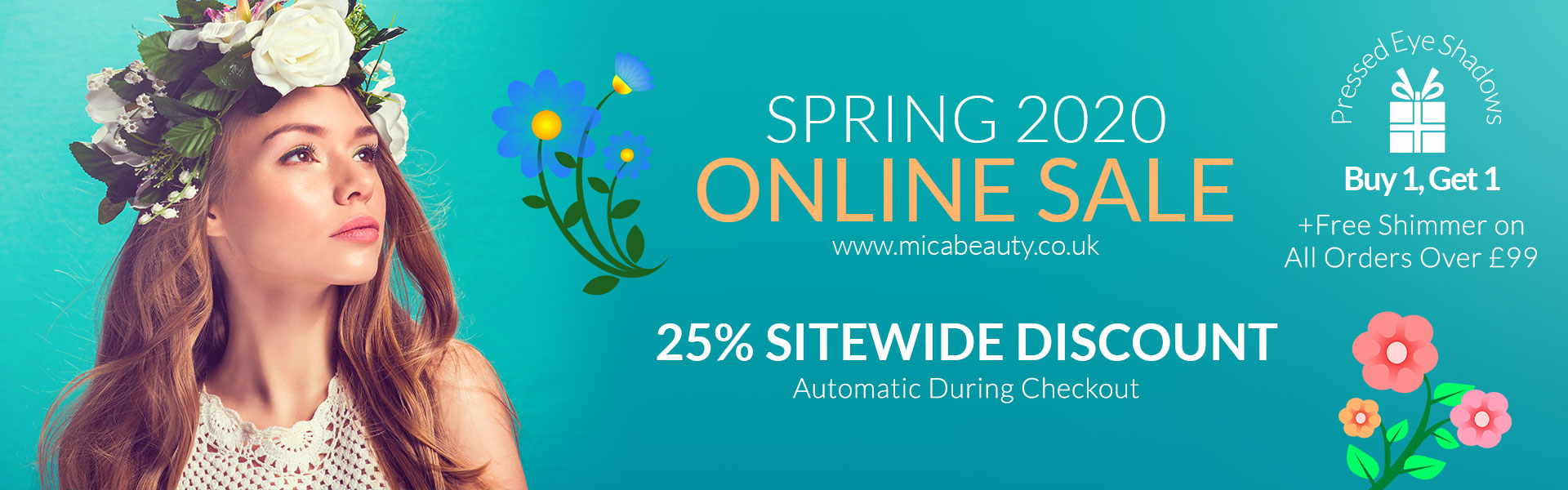 Spring 2020 Online Sale on Micabeauty UK